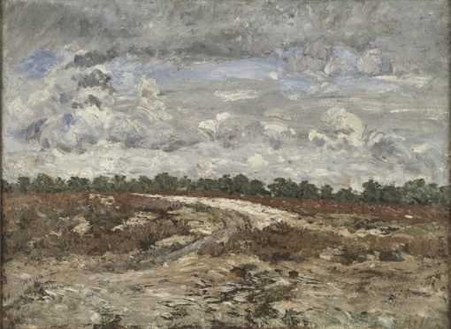 Wild Country in the Forest of Fontainebleau | Carl Fredrik Hill | Oil Painting