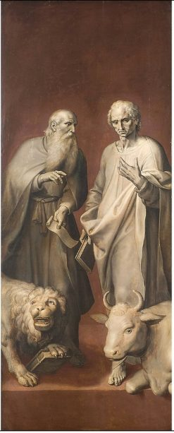 Saints Mark and Luke | Maarten Pepyn | Oil Painting