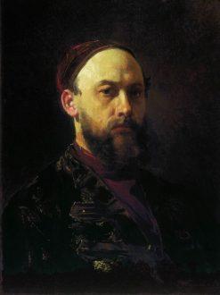 Self Portrait | Firs Zhuravlev | Oil Painting