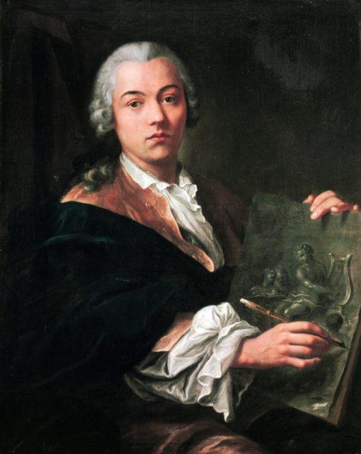 Self Portrait   Johann Anton de Peters   Oil Painting