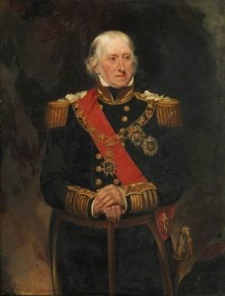 Admiral Sir Edward Campbell Owen | Henry William Pickersgill | Oil Painting