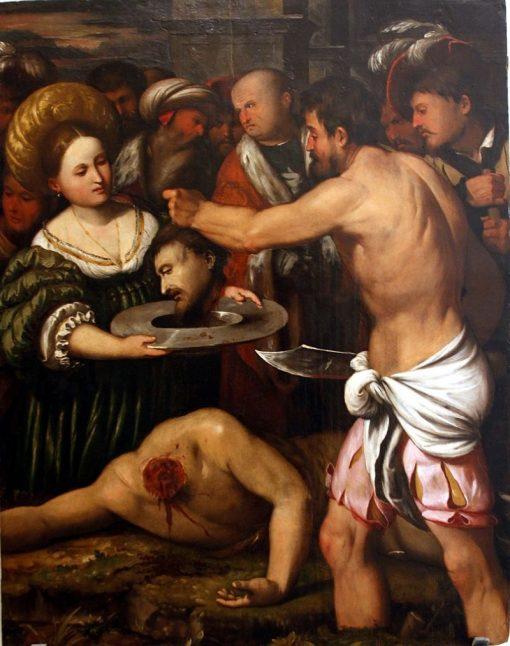 Beheading of St. John the Baptist | Callisto Piazza da Lodi | Oil Painting