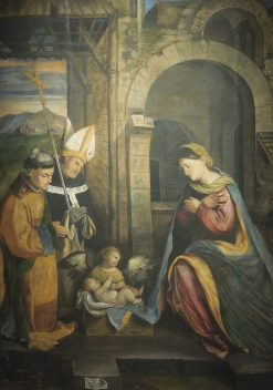 The Virgin Adoring the Child | Callisto Piazza da Lodi | Oil Painting