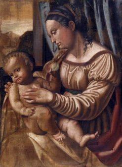 Madonna and Child | Callisto Piazza da Lodi | Oil Painting