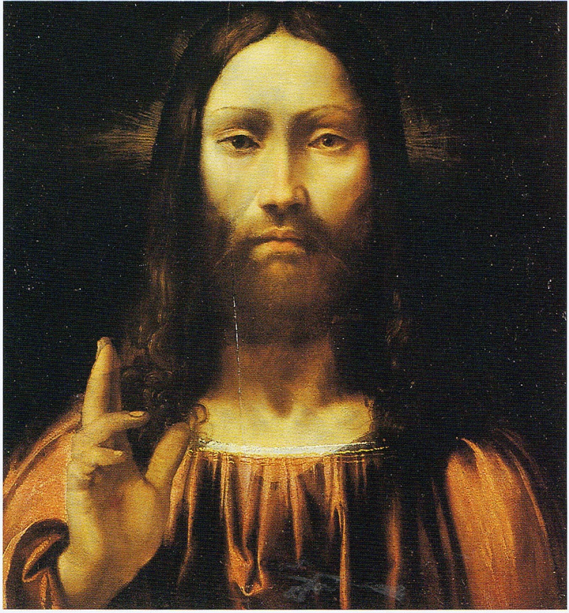 Jesus Christ Painting Callisto Piazza Da Lodi Oil Paintings