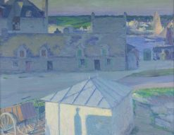 Port of Concarneau   Max Kurzweil   Oil Painting