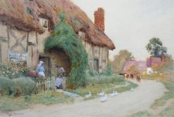 Country Hamlet | Arthur Claude Strachan | Oil Painting