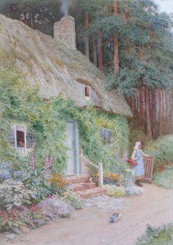 At Elmby East Village   Arthur Claude Strachan   Oil Painting
