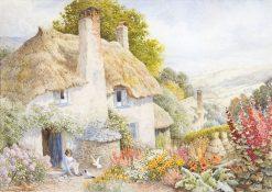 Feeding Doves   Arthur Claude Strachan   Oil Painting