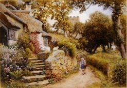 A Country Lane | Arthur Claude Strachan | Oil Painting