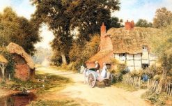 Going to Market | Arthur Claude Strachan | Oil Painting
