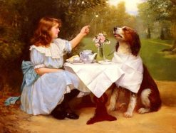 Tea Time | Harold Hume Piffard | Oil Painting