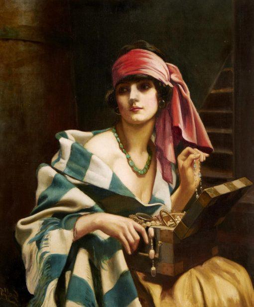 Treasures of the harem | Harold Hume Piffard | Oil Painting