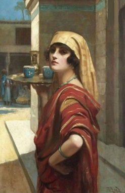 Odalisque | Harold Hume Piffard | Oil Painting