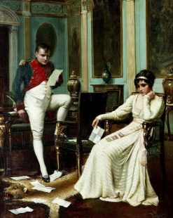 Napoleon and Josephine | Harold Hume Piffard | Oil Painting