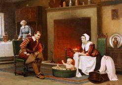 Bathtime | Harold Hume Piffard | Oil Painting