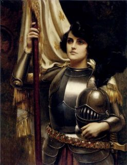Joan of Arc | Harold Hume Piffard | Oil Painting