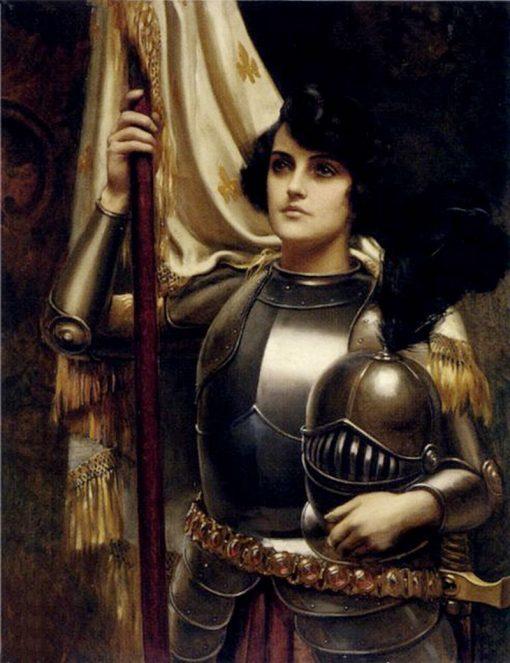 Joan of Arc | Harold Hume Piffard | Oil Painting