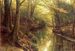 Stream in the Forest | Peder Mork Mønsted | Oil Painting