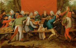 A Wedding Feast | Pieter Brueghel the Younger | Oil Painting