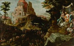 The Construction of the Tower of Babel | Frederik van Valckenborch | Oil Painting