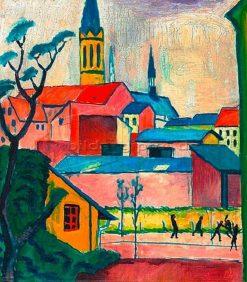 Marienkirche | August Macke | Oil Painting