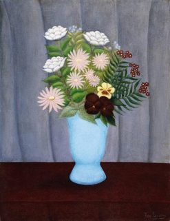 Garden Flowers | Henri Rousseau | Oil Painting