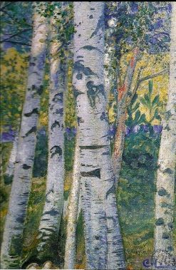 Birches | Carl Larsson | Oil Painting