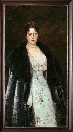 Portrait of Margarita Morozova | Nikolai Bodarevsky | Oil Painting