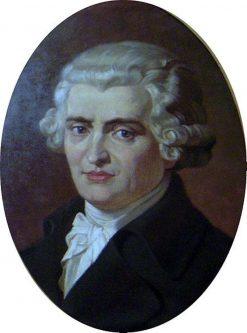 Portrait of Composer Franz Joseph Haydn | Nikolai Bodarevsky | Oil Painting