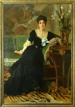 Portrait of a Lady | Nikolai Bodarevsky | Oil Painting