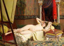 Nude | Nikolai Bodarevsky | Oil Painting