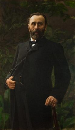 Portrait of V.I. Safonov | Nikolai Bodarevsky | Oil Painting