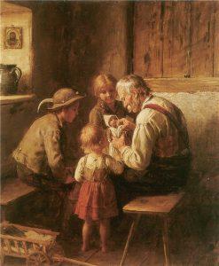 The Dollmaker | Franz von Defregger | Oil Painting