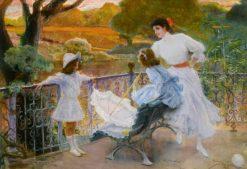 In the Park | Jose Villegas y Cordero | Oil Painting