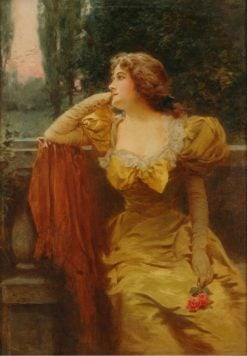 Portrait of a Lady | Leon-Francois Comerre | Oil Painting