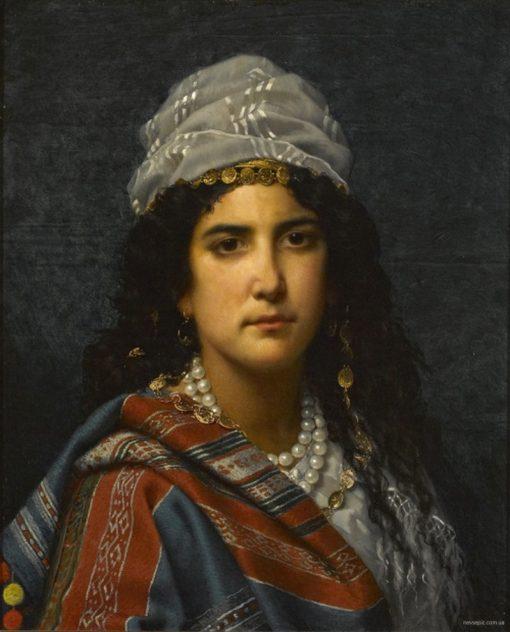 Gypsy Girl   Jan Frederik Pieter Portielje   Oil Painting