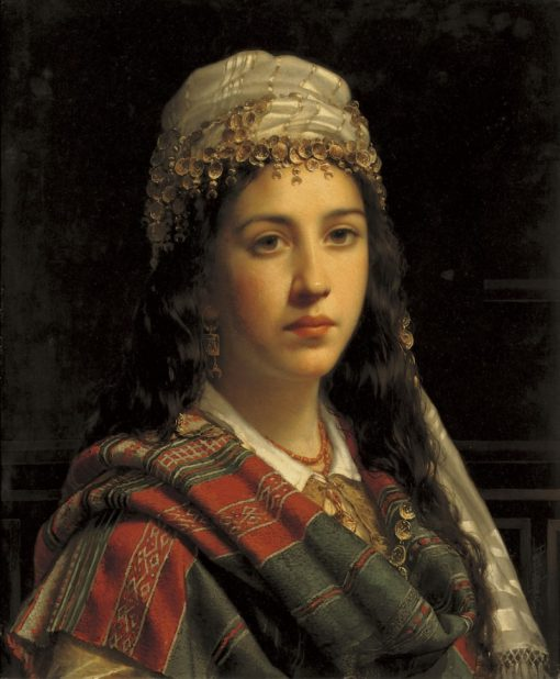 An Elegant Gypsy | Jan Frederik Pieter Portielje | Oil Painting