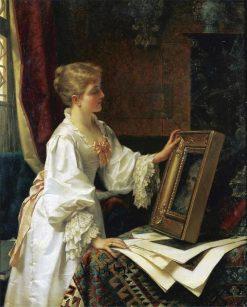 A Compelling Portrait | Jan Frederik Pieter Portielje | Oil Painting