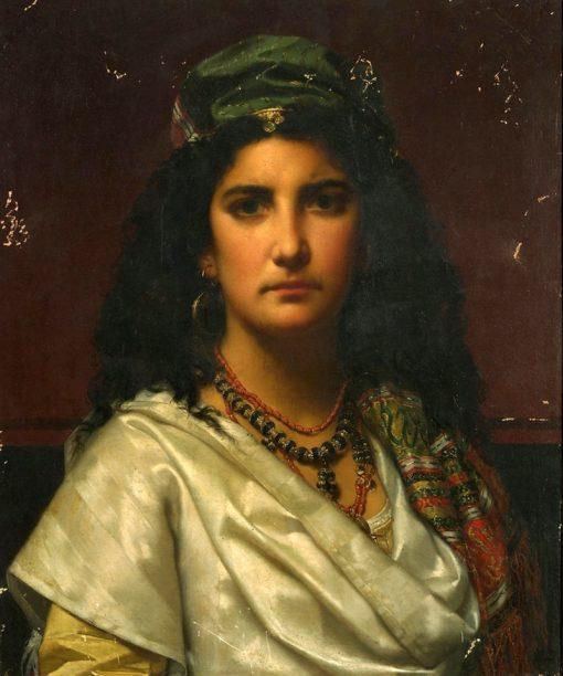 An Oriental Beauty | Jan Frederik Pieter Portielje | Oil Painting