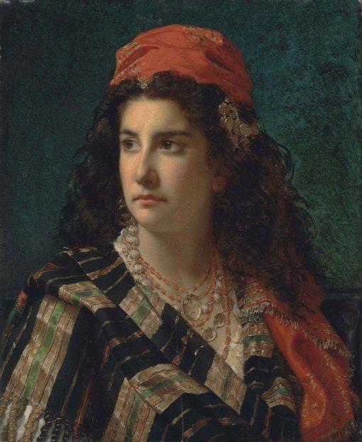 A Young Beauty | Jan Frederik Pieter Portielje | Oil Painting