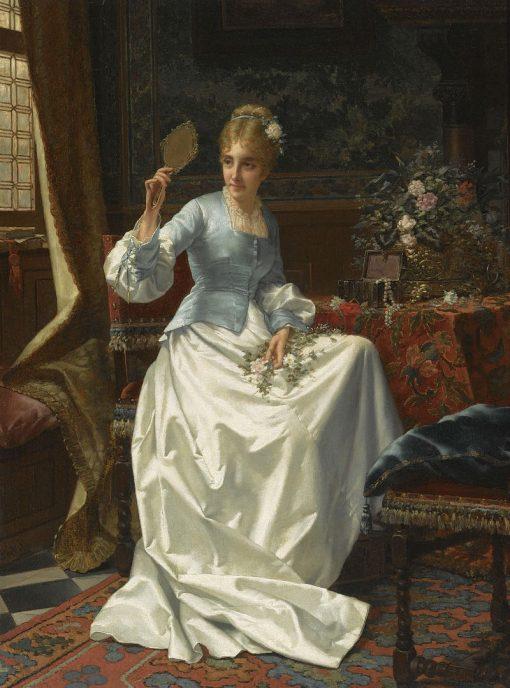 Beauty in an Interior | Jan Frederik Pieter Portielje | Oil Painting