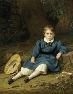Henry George Tierney Elton as a Boy | Edward Villiers Rippingille | Oil Painting