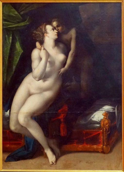 Venus and ?upid | Dirk de Quade van Ravesteyn | Oil Painting