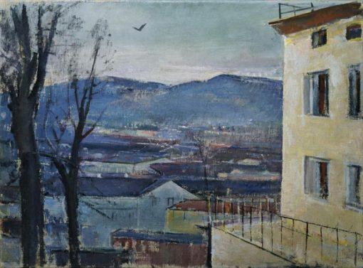 Evening in Salzburg | Anton Faistauer | Oil Painting