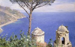 Ravello | Peder Mork Mønsted | Oil Painting