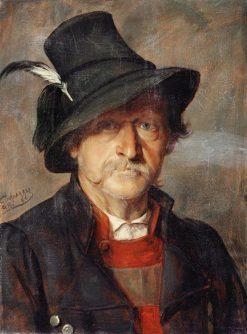 A Tyrolean Peasant | Franz von Defregger | Oil Painting
