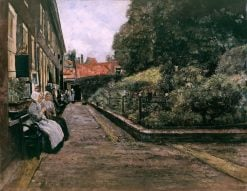 The Hospice in Leyden | Max Liebermann | Oil Painting