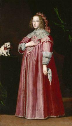 Archduchess Maria Leopoldine   Lorenzo Lippi   Oil Painting