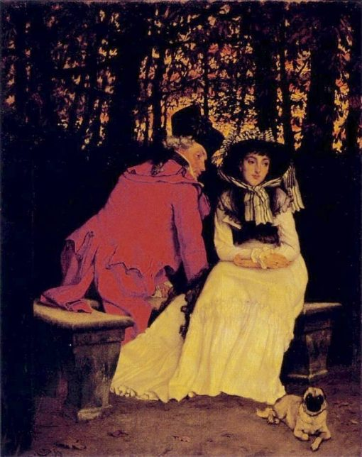 Unaccepted | James Tissot | Oil Painting